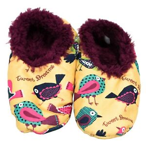 Kleidung & Accessoires Aufrichtig Lazyone Damen Erwachsene Tweet Dreams Fuzzy Feet Hausschuhe