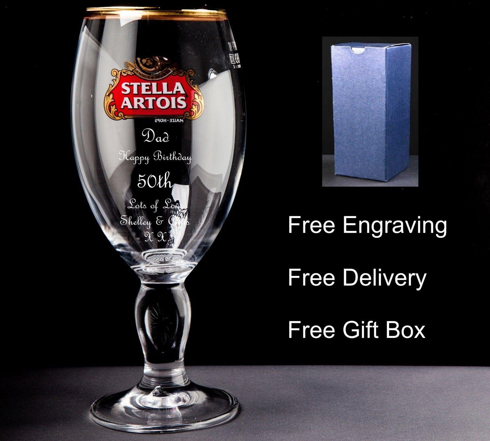 PERSONALIZZATA STELLA Pinta in vetro vetro vetro regalo di compleanno 25 26 27 28 29 30 31 9d5413