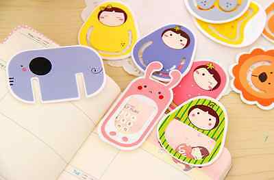Kawaii Animal Cute Doll bookmark novelty kids gift UK Good Quality Design