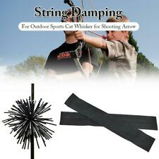 1 PACK CAMO Cat Whisker Bow String Silencers Archery RECURVE COMPOUND CROSSBOW