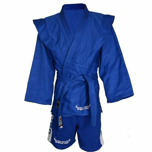 Viking Sambo Uniform Blue