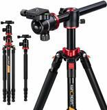K&F Concept 72 inch TM2534T Profeesional Horizontal Camera Tripod Monopod for DSLR