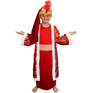 Childs kids wise man costume nativity king fancy dress kids school image is loading childs kids wise man costume nativity king fancy solutioingenieria Gallery