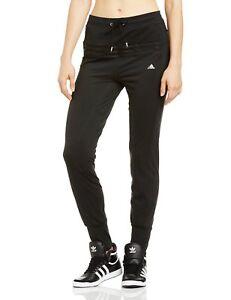 Adidas-Mujer-Entallado-Clima-Pantalones-de-Chandal-Climalite-Gimnasio-Yoga