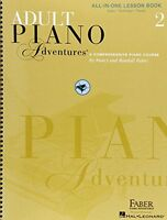 Adult Piano Adventures All-in-one Lesson Book 2 By , (spiral-bound), Faber Piano on Sale