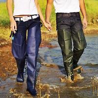 Hip Waders Wear Resistant Adjustable Waterproof Trouser Breathable Wader