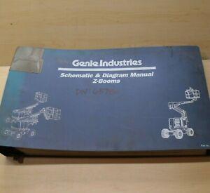GENIE Z-Boom Lift Electric Schematic Diagram Manual shop service repair guide