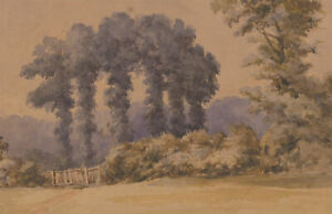 Late-19th-Century-Watercolour-The-Forest-Gate
