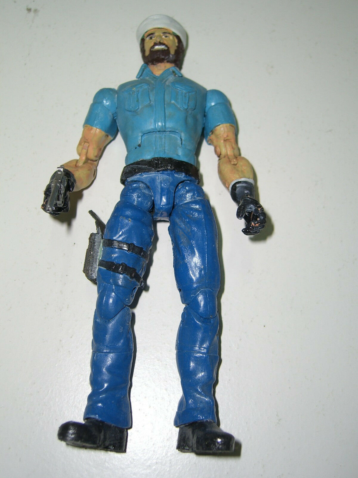 G.I Joe SHIPWRECK CUSTOM 6  1985 V1 MARVEL LEGENDS UNIQUE