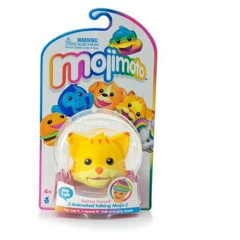 Mojimoto CAT - REPEATING TALK BACK TOY - BRAND NEW SEALED - FREE SHIPPING