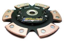 FX STAGE 3 CERAMIC 6-PUCK CLUTCH DISC fits NISSAN G20 200SX NX SENTRA 1.8L 2.0L
