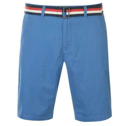 Bermuda Shorts pierre cardin Herren Stil Chino mit Gürtel des S Au XXL