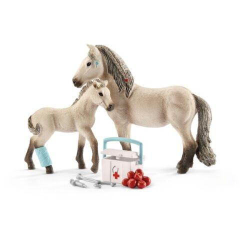 Schleich 42430 Horse Club d/'Hannah de premier secours Set