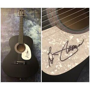 GFA Hooked on a Feeling B.J. THOMAS Signed Autograph Acoustic Guitar AD1 COA