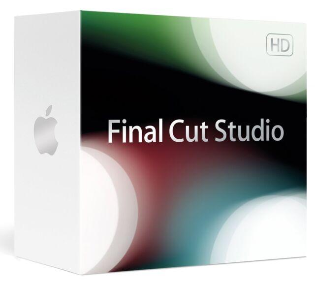 Apple Final Cut Studio 2009 (Einzeln) (1) - Vollversion für Mac MB642D/A