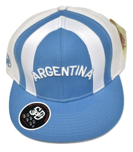 Stall /& Dean Mens Argentina Fitted Hat Cap Pick Size