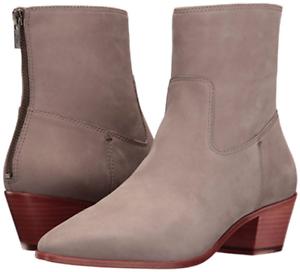 New in Box FRYE Womens Frye Ellen Short Grey Ankle Boots Size 7 MSRP $ 298