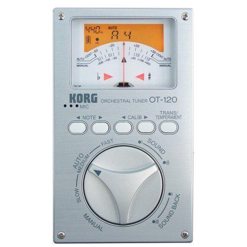 Korg OT120 OT-120 Orchestral Tuner, 8 Oct. Range