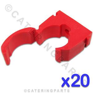 Gastro & Nahrungsmittelgewerbe Backformen & Tortenringe 2019 Mode Cl114 Talon 20 X Hochwertig 15mm Einzelscharnier Rohrklemmen Rot Für Heißwasser 2019 Offiziell