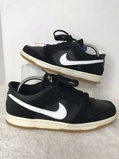 Nike MEN/'S SB Zoom Dunk Low Pro Black//White//Gum Light Brown SIZE 13 BRAND NEW
