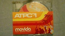 ATPC - MOVIDA FEAT. BORIS. PROMO CD SINGOLO 3 TRACKS