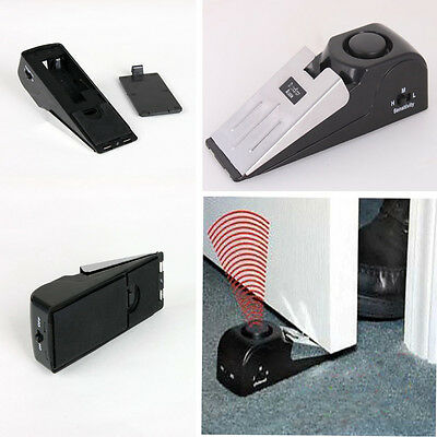 Door Stop Alarm Portable Wireless Home Travel Safe Trigger Alert System 120DB