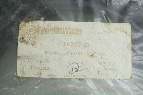 "New Freelin Wade 1J-207-01 Black Nylon 1//2/"" x 3//8/"" ID Air Tubing 100/' Length"