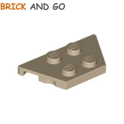 LEGO NEW 2x4 Dark Tan Wing 10x 6003379 Brick 51739