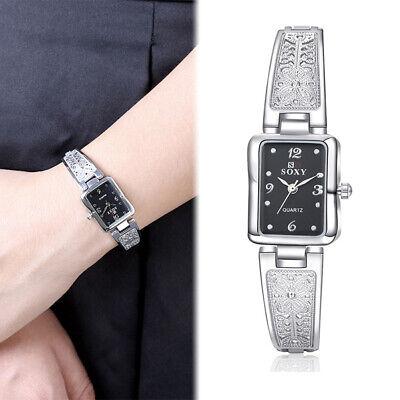 Fashion Women Watch Stainless Steel Luxury Bracelet Analog Quartz Wristwatch