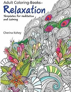 Coloring Book For Adults Relaxation Templates Designs Art