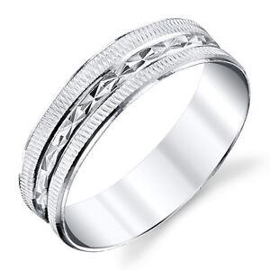 925-Sterling-Silver-Mens-Wedding-Band-Ring-size-8-9-10-11-12-13-SEVB015