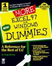 More Excel 97 for Windows for Dummies by Greg Harvey (1997, Paperback)