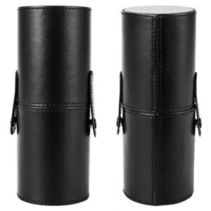 Travel Leather Storage Holder Cosmetic Cup Case For Makeup Brush Pens Bag Pouch by Harupink