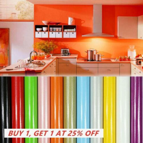 Premium Pearlized PVC Self Adhesive Wallpaper Furniture Renovation Wall Sticker