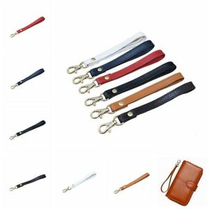Wristlet-Wrist-Bag-Genuine-Leather-Strap-Replacement-For-Clutch-Purse-Handbag
