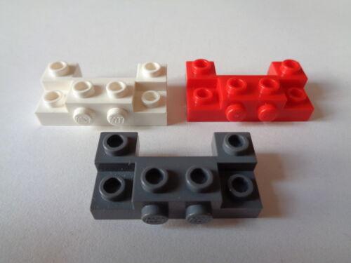 choose color LEGO  Brique Pare Choc Brick 2x4 1x4 Recessed Studs//Side 52028