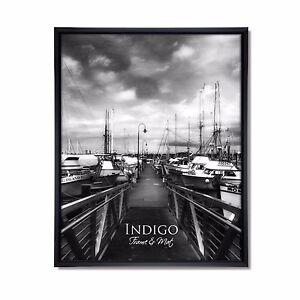 Set Of 6 Black Plastic 11x14 Frames Glass 635648532660 Ebay