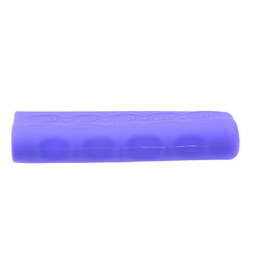 Purple Silicone Non-slip Hand Brake Cover Protective Sleeve for Car Vehicle