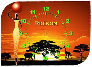 horloge-pendule-murale-afrique-personnalisee-prenom-au-choix-ref-F-55