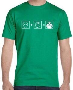 Green Lantern Formula T-Shirt , Big Bang Theory