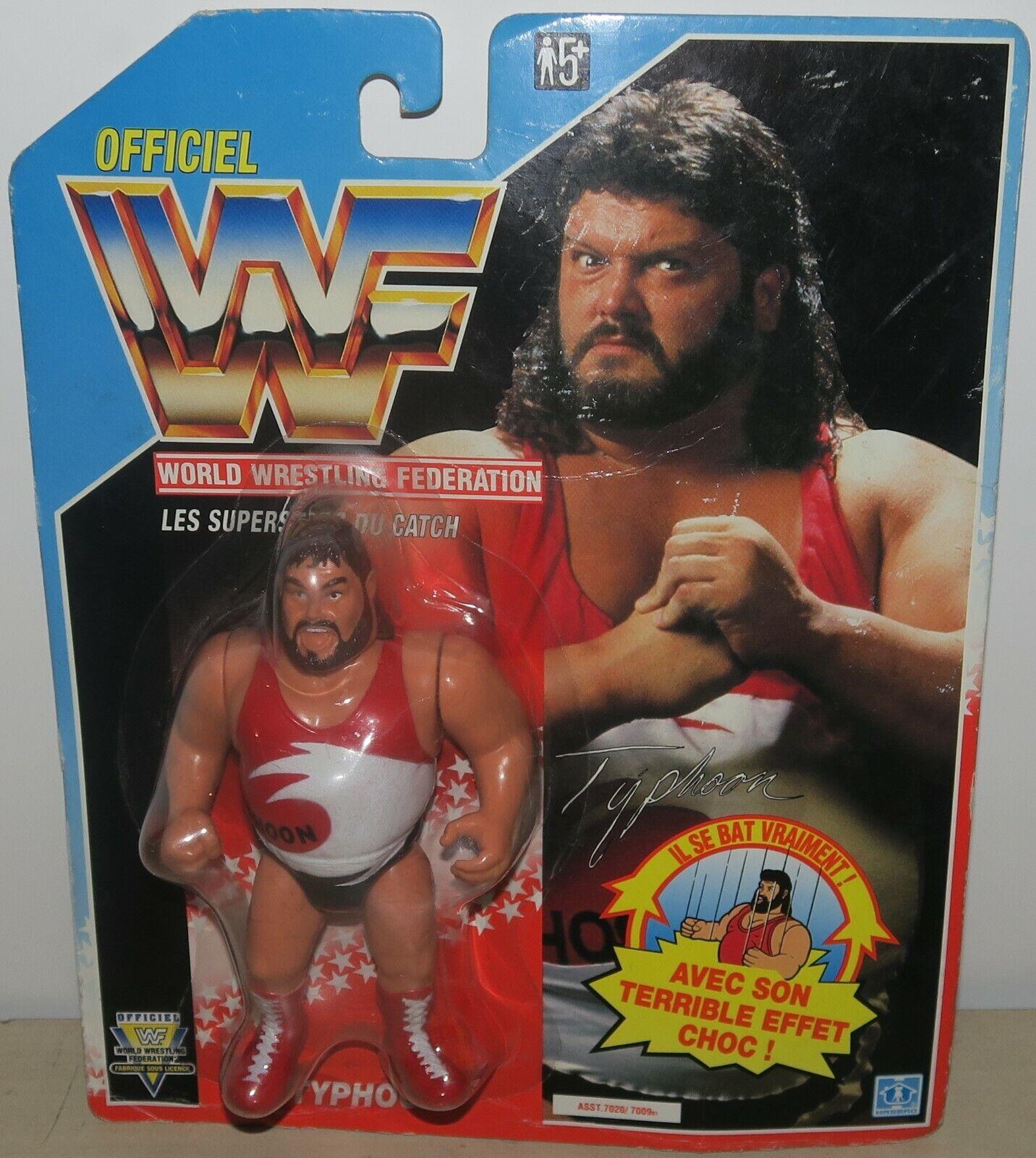 Figurine WWF WWE Typhoon 1991 Hasbro