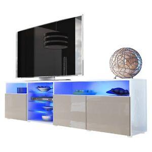 Dettagli su Porta tv Mozart, mobile per tv hi-fi in 13 colori a scelta,  soggiorno moderno