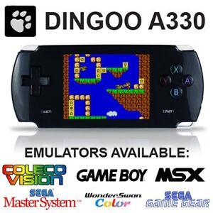 Dingoo a330 portable retro game handheld system emulator dingux support black ebay - Retro game emulator console ...