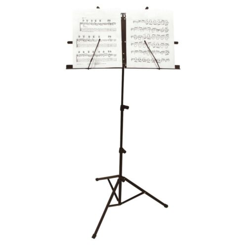 Carry Case Music Note Stand Sheet Music Holder Lightweight Adjustable Foldable