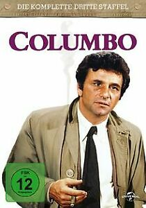 Columbo-3-Staffel-4-DVDs-von-James-Frawley-DVD-Zustand-gut