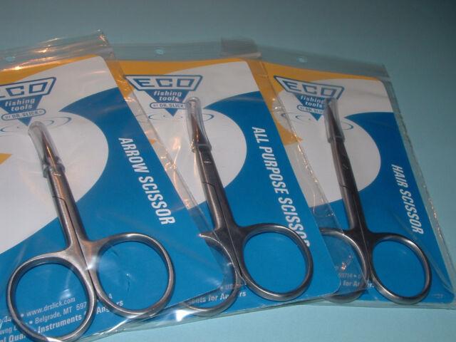 Dr Slick ECO Scissor Set Arrow All-Purpose Hair 3 Scissors ESA35 ESAP4 ESH45