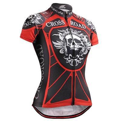 FIXGEAR CS-W1302 Women's Short Sleeve Cycling Jersey Bicycle Roadbike MTB