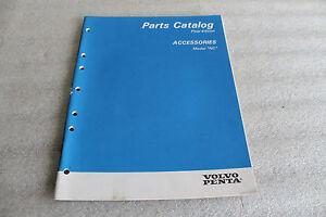 1996 VOLVO PENTA PARTS MANUAL  P/N 7797270-1