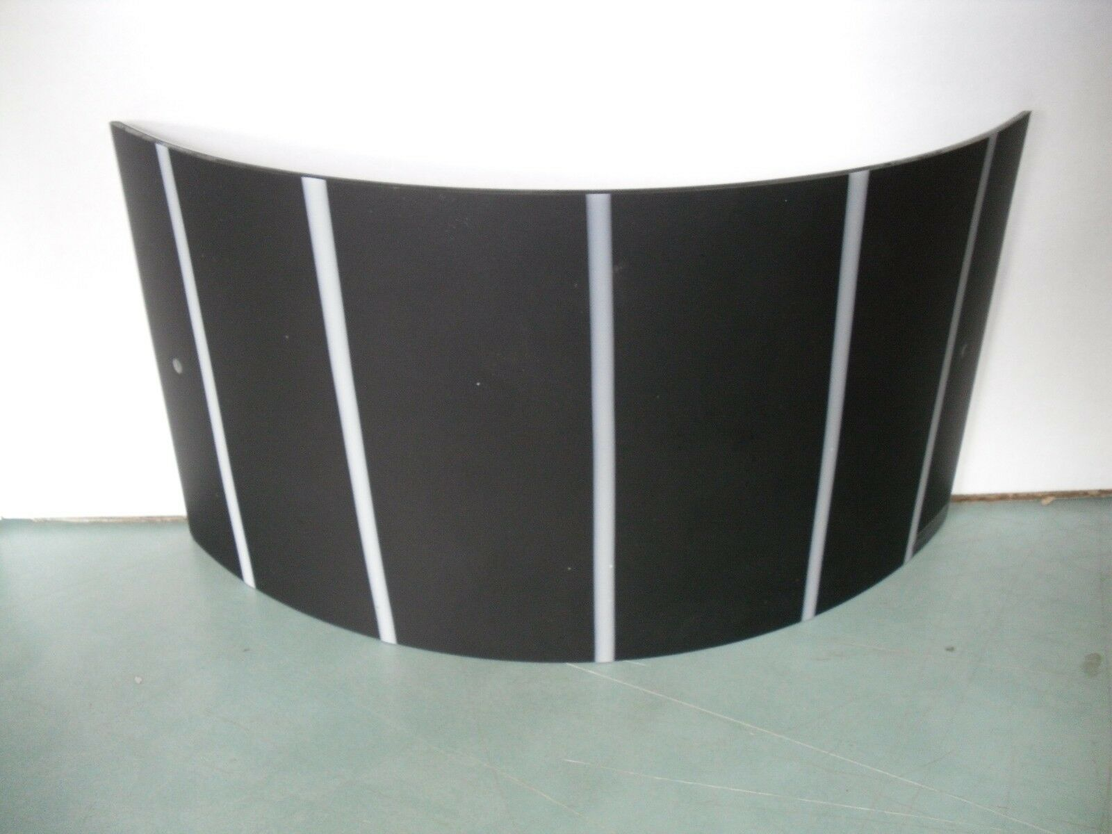 Applique talia nera murano due in in in vetro e nichel 120w 918d74