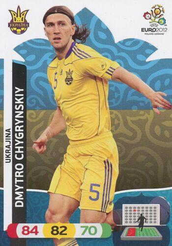 DMYTRO CHYGRYNSKIY # UKRAJINA UKRAINE CARD PANINI ADRENALYN EURO 2012